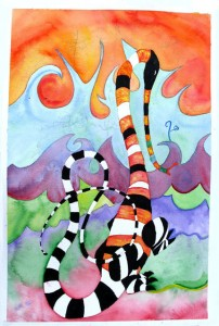 colourful watercolour monster _small_