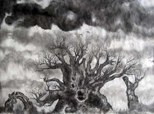 gnarled-stump-tree-9x12-s
